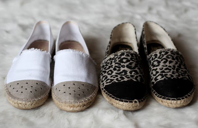 Espadrilles from the LovelyPepa x Krack collection in leopard and black